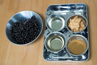 黒千石レシピ:黒千石豆味噌・材料
