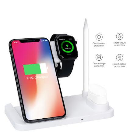 4in1 Trådlösladdnings Mobil,Apple Watch, Apple Pen, Airpods