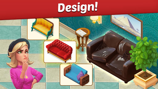 Family Hotel: Renovation & love storyu00a0match-3 game screenshots 4