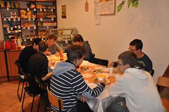 """Photo: Sobota 22. září 2012 – snídaně na gymnáziu """"Fedro""""."""