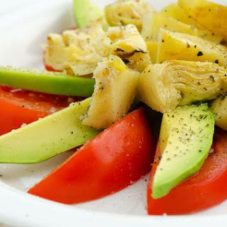 Hearts of Palm and Artichoke Salad.