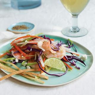 Shrimp Slaw with Cilantro-Lime Vinaigrette