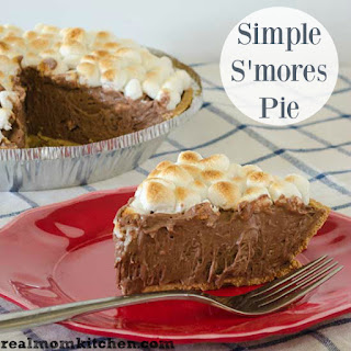 Simple S'Mores Pie Recipe
