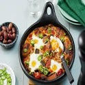 Recipes of Ratatouille with Baked Eggs icon