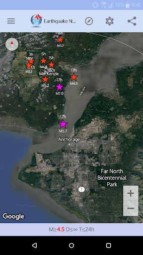 ud83dudea8 Earthquake Network - Realtime alerts 9.7.12 screenshots 1