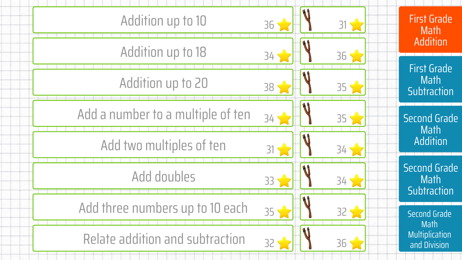 Worksheet First Grade Math Addition first grade math addition android apps on google play screenshot