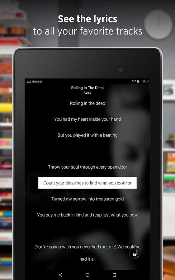 Deezer: Music & Song Streaming- screenshot