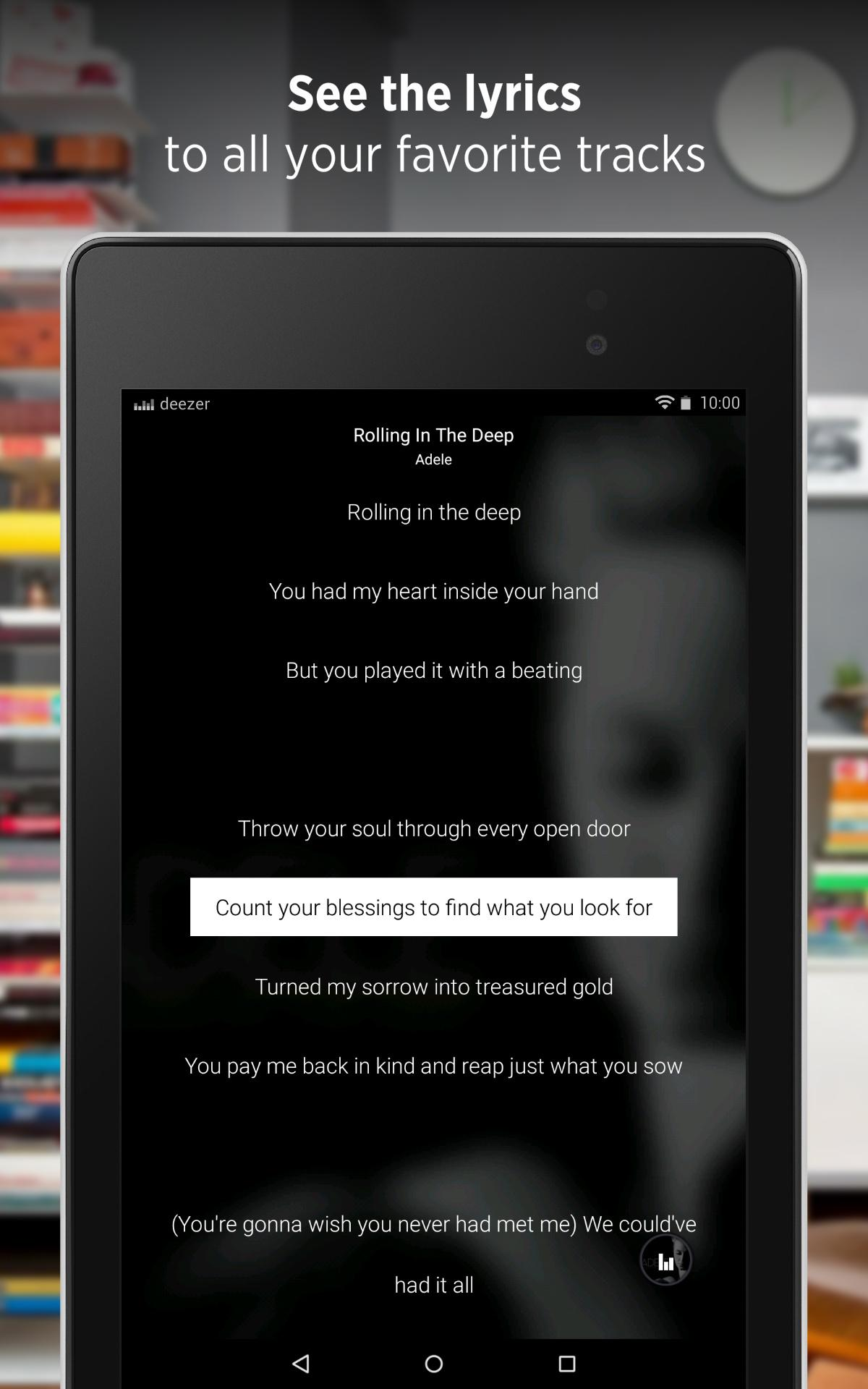 Deezer - Songs & Music Player screenshot #14
