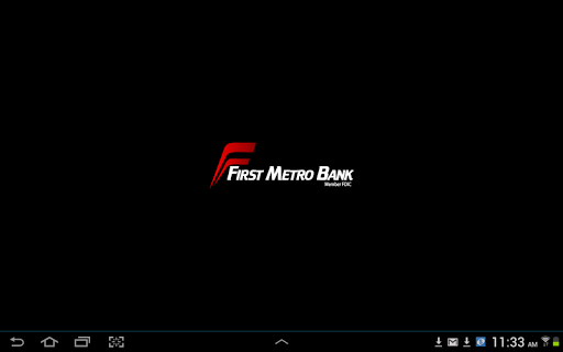 First Metro Bank Mobile Tablet
