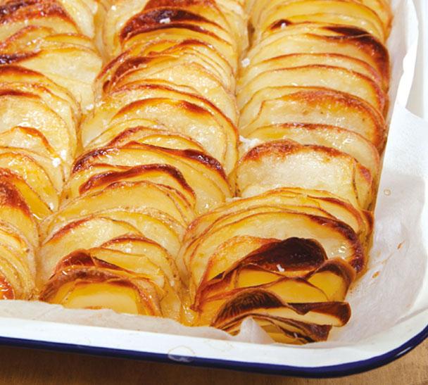 Seven Fires' Potato Dominoes Recipe — Dishmaps