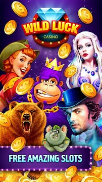 Wild Luck Free Android Slots and Casino Games - screenshot
