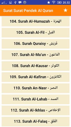 Surat Surat Pendek Al Quran Juz 30 10 Apk By Aswaja
