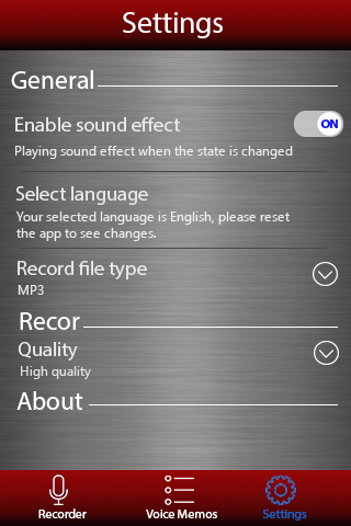 Voice recorder 1.36.462 screenshots 4