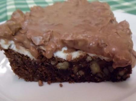 Mississippi Mud Cake - Made In The Microwave Recipe