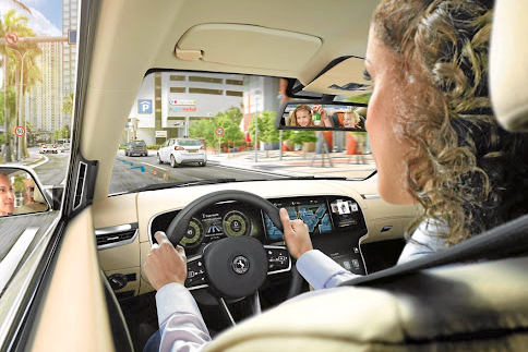 Digital screens are already appearing in vehicles, but there will be more of them in the future.    Picture: QUICKPIC