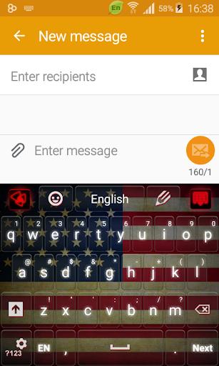 アメリカのキーボード