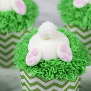 Bunny Butt Cupcakes.