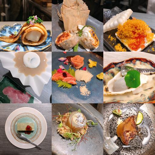日式創意料理 無菜單 一人1500 生蠔冰淇淋🍦 海膽鮭魚卵漢堡🍔 星鰻麻糬燒🐟 具創意又美味 吃的飽又精緻 推一個好吃😋😋😋採預約制