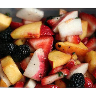 Peppered Peach Salad