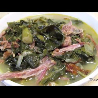 Southern Style Collard Greens - Soul Food