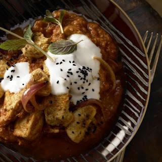 Spicy Chicken Curry .