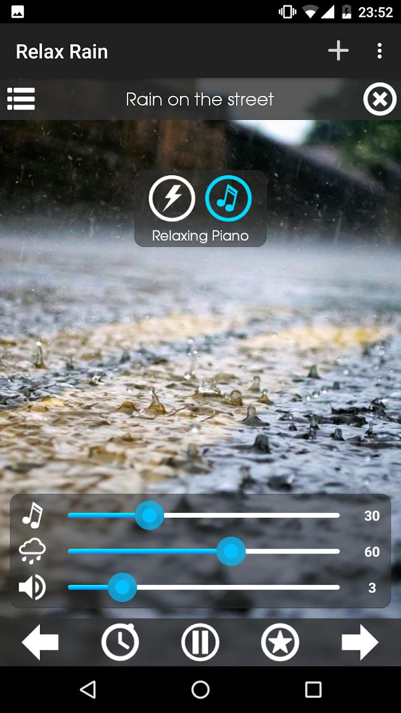 Relax Rain ~ Rain Sounds Screenshot 2