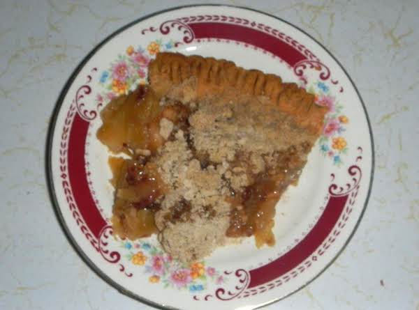 Cucumber Apple Craisin Pie  (nancys New Recipe)