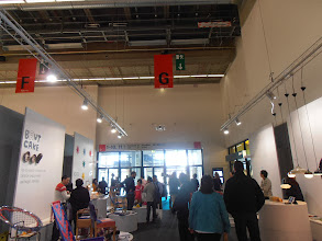 Photo: Drone flying overhead in hall 11.0