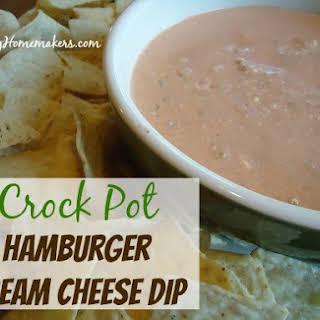 Hamburger Cream Cheese DipYum.