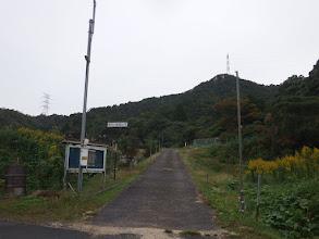西方が岳の標識1