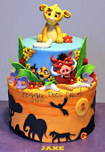 Photo: EDITOR'S CHOICE 2/5/2012  Lion King cake by Peggy Does Cake  View cake details here: http://cakesdecor.com/cakes/6439 View all cakes by PeggyDoesCake http://cakesdecor.com/PeggyDoesCake/cakes