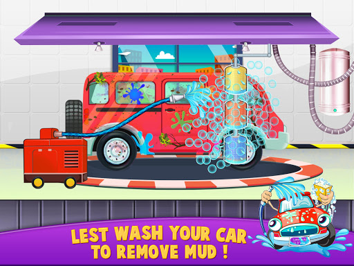 Smart Car Kids Wash Garage Service Station Auto 1.0 screenshots 7