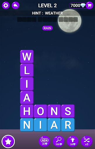 Word Blast - Find Hidden Word Stacks  screenshots 5
