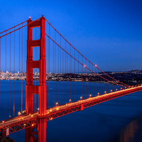 Golden by Paul Judy - Travel Locations Landmarks ( pwclandmarks, california, bridge, golden gate, san francisco )