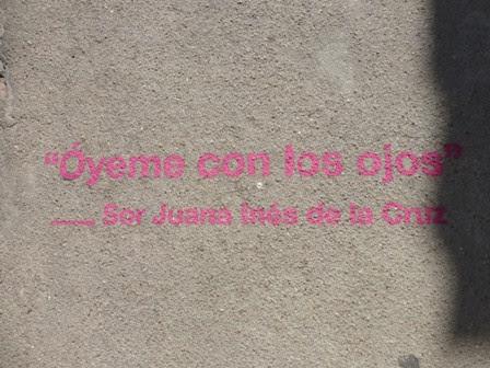 verso: Óyeme con los ojos - Sor Juana Inés de la Cruz