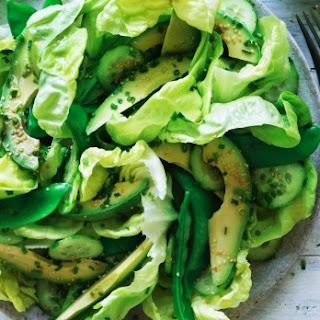 Japanese Green Avocado Salad.