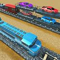 Indian Train Transporter Sim icon