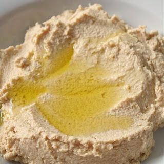 Tahini Free Lemon Hummus.