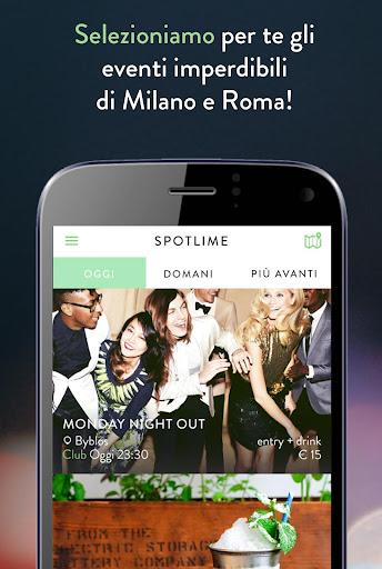 Spotlime - Milano e Roma