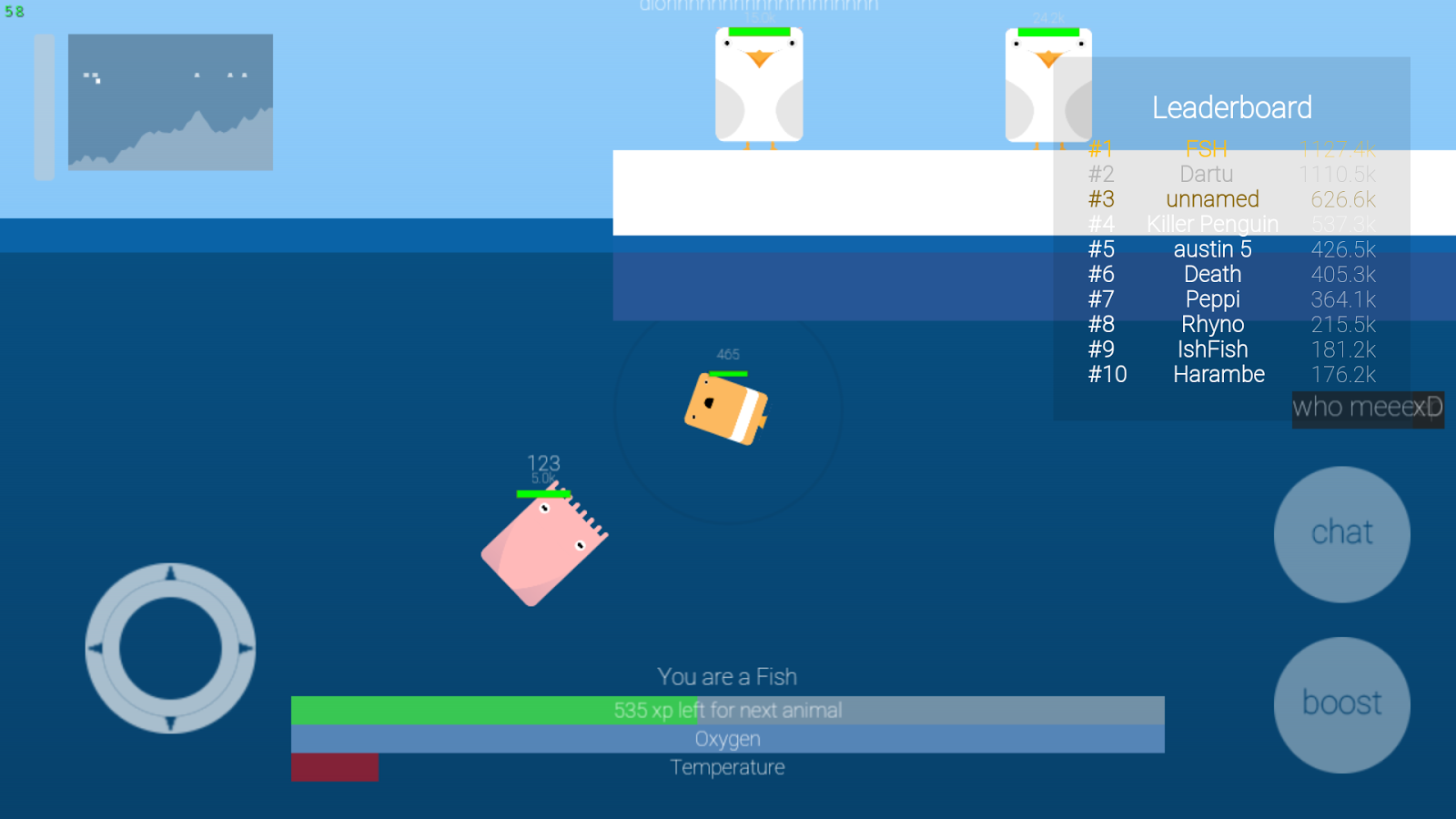 Deeeep.io- screenshot