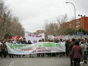 Photo: Manifestación contra la privatización de la Sanidad Pública (Rivas-Vaciamadrid, Covibar, 27 de enero de 2013) 1,