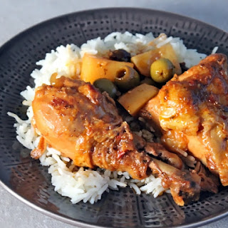 Dominican Style Stewed Chicken