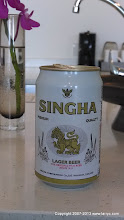 Photo: Singha... The beer of Thailand.