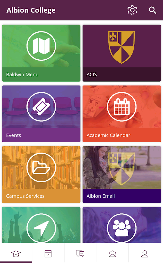 Albion College- screenshot