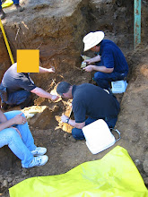 Photo: Excavation, documentation, inventory, etc.  - all are critical in forensic work.