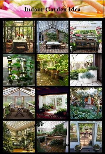屋内庭園のアイデア