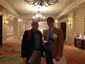 Photo: Dr. Lev and Dr. Ptak