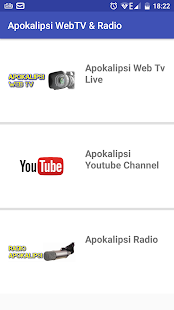 Apokalipsi WebTV & Radio- screenshot thumbnail