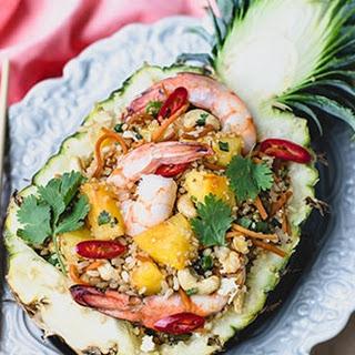Pineapple Quinoa Fried Rice Recipe