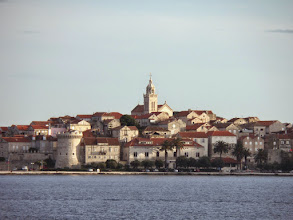 Photo: The next morning we traveled to the island of Hvar, known for it's many days of sunshine.  Hotel guests only pay half price if it rains.